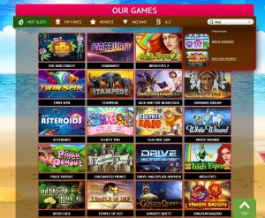 divine slots casino review games