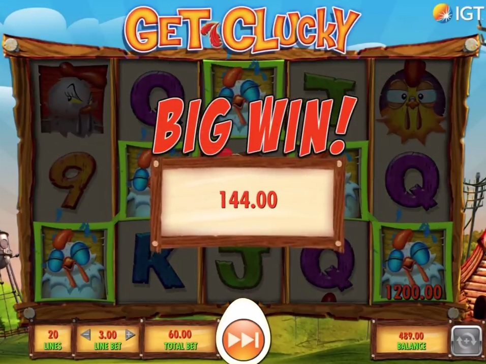 Get Clucky Big Win