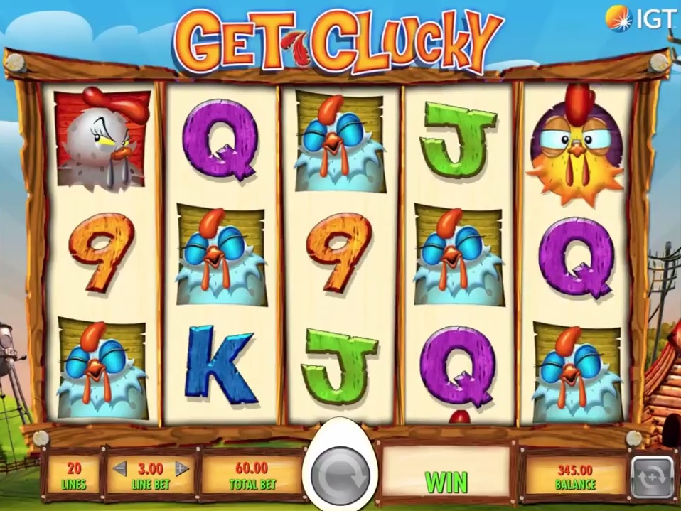 Get Clucky Gameplay