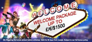 Welcome Package Promotion Fable Casino