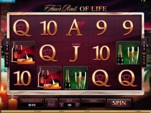 Finer Reels Life Slot Microgaming Screenshot