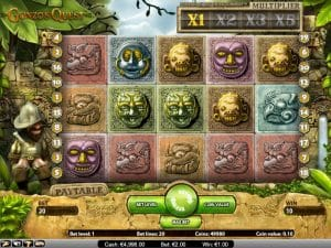 Gonzo's Quest Gameplay Screenshot
