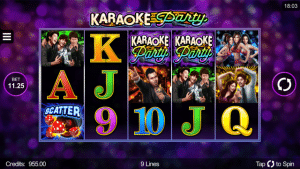 Karaoke Party Slot scatter