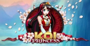 Koi Princess slot machine logo