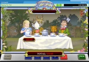 adventures in wonderland slot tips jackpot bonus