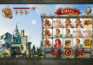 castle builder slot gameplay