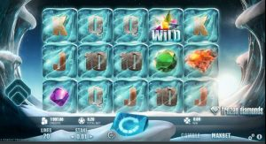 Frozen Diamonds Slot Gameplay