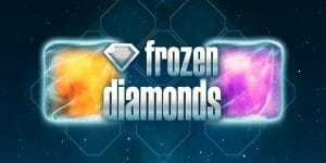 Frozen Diamonds Slot Logo