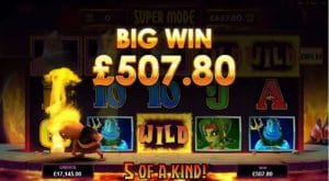 Hot as Hades Slot Big Win