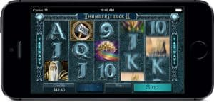 innovating slot game thunderstruck II