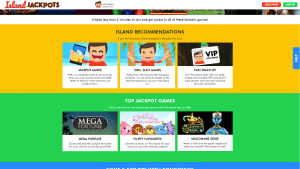 island jackpot screenshot recommendations