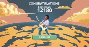 jimi hendrix slot game coin win