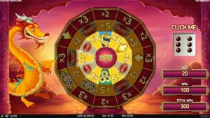 koi princess netent video slot bonus wheel