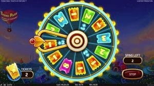 theme park tickets of fortune bonus ticket wheel