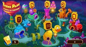 theme park tickets of fortune slot review bonus games