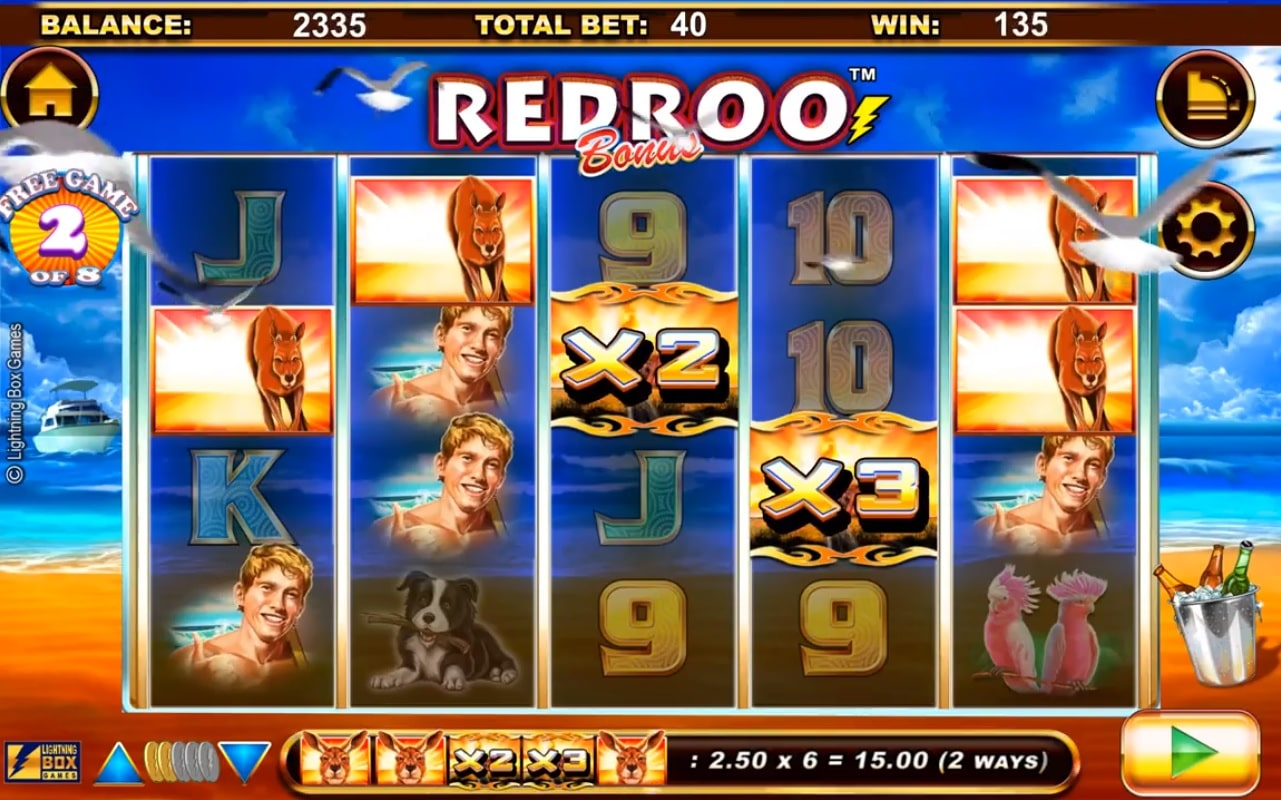 Redroo Win Multipliers