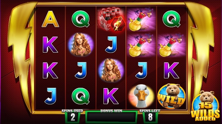Ted Free Spins Gameplay