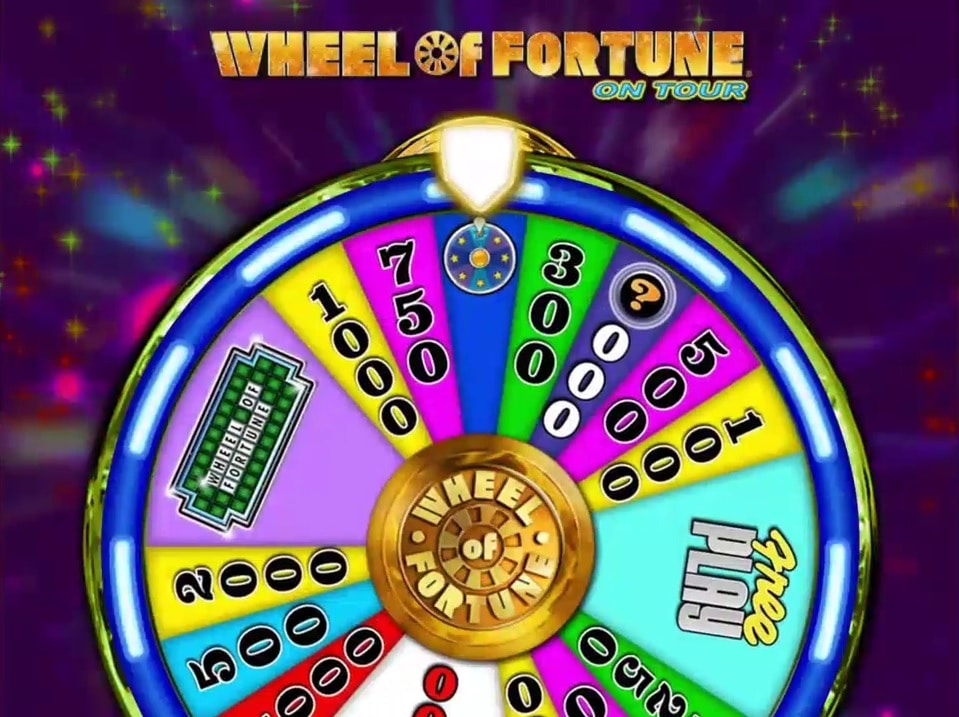 Wheel of Fortune Bonus Gameplay