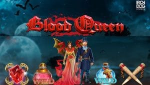 Blood Queen Slot Logo