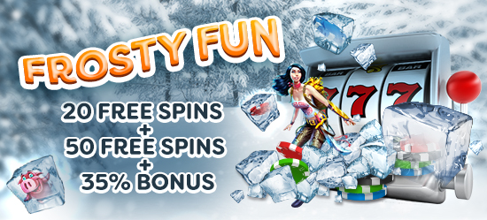 Frosty Fun Promotion Banner