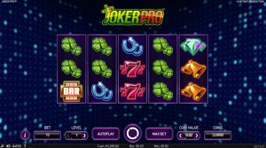 joker pro slot feature