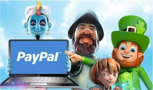 PayPal On Laptop And Slot Characters