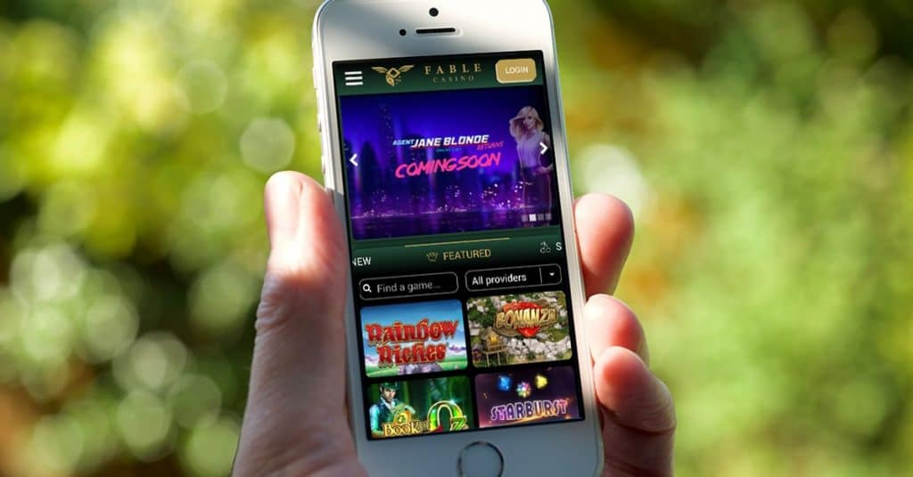 fable casino bonuses and lobby on iphone outside